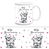 TIA Creation Wife You are amazing Gift Mug, Best for Everyday Gifts