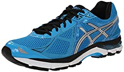 ASICS Men\'s GT 2000 3 Running Shoe, Turquoise/Silver/Black, 16 M US