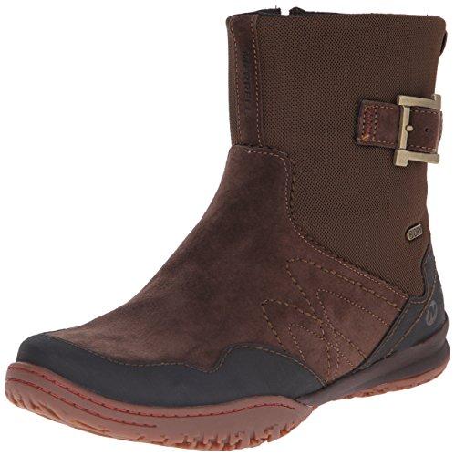 Merrell Albany Sky Waterproof, Stivaletti alla caviglia non foderati donna, Marrone (Caffè), US 11|UK 9|EU 42.5