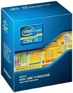 Intel Processeur Core i3 2100 / 3.1 GHz LGA1155 Socket L3 3 Mo Cache Version boîte