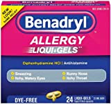 Benadryl Dye-Free Allergy Reliefs (Pack of 3)