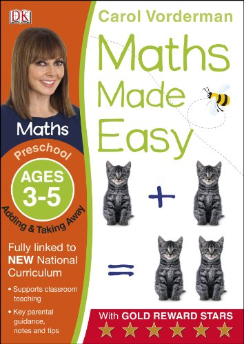 Maths Made Easy Adding And Taking Away Preschool Ages 3-5 (Carol Vorderman's Maths Made Easy)