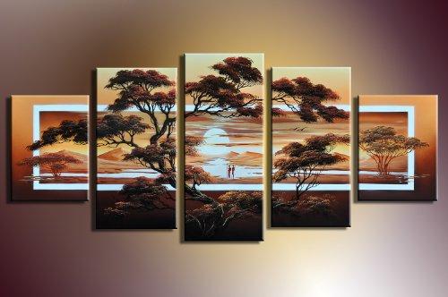 Barato vida africana m2 5 imagen 150x70 cuadros en for Cuadros decorativos baratos precio