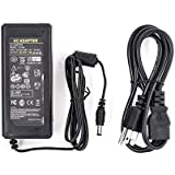 SUPERNIGHT AC 100-240V To DC 12V 6A 5.5x2.1mm DC Output Jack Power Supply Converter Adapter for Led Lights Strips
