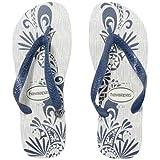 サマー レジャー havaianas サンダル ALOHA メンズ ホワイト/ブルー 4111355 W/BL