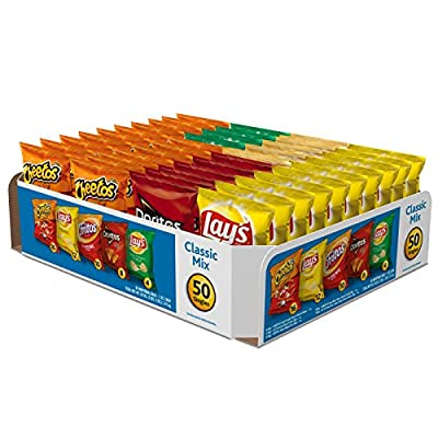 Frito-Lay Classic Mix Variety Pack, 50 Count by Frito Lay