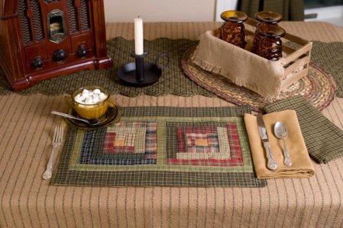 "Victorian Heart ""Tea Cabin"" Patchwork Placemat Set"
