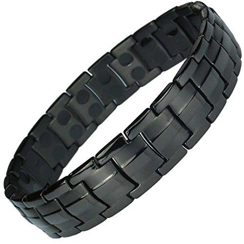 mpsr-jet-black-double-strength-titanium-magnetic-bracelet-free-links-removal-tool