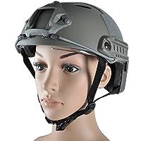 Onetigris Casque tactique pour airsoft/paintball avec lunettes de protection Motif camouflage