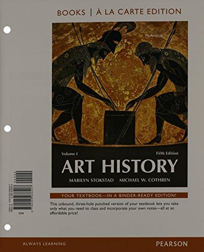 Art History volume 1, Books a la Carte Plus NEW MyArtsLab wi