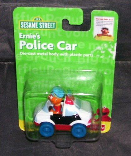 Fisher Price Sesame Street ERNIE'S POLICE CAR Diecast 2005 - 1