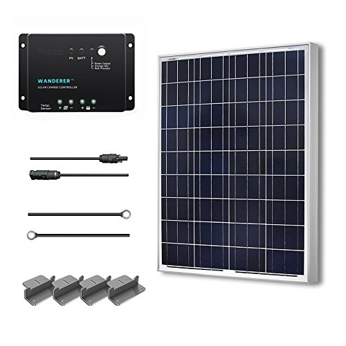 Renogy 100 Watts 12 Volts Polycrystalline Solar Starter Kit (Renogy Solar Panels compare prices)