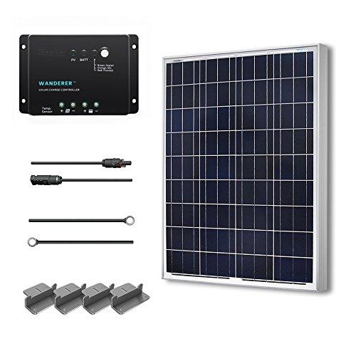 Renogy 100 Watts 12 Volts Polycrystalline Solar Starter Kit (Starter Solar Panel Kit compare prices)