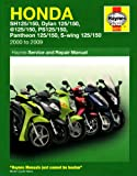 Matthew Coombs Honda 125 Scooters Service and Repair Manual: 2000 to 2010 (Haynes Motorcycle Manuals)