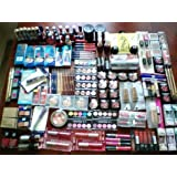 Wholesale lot of 100pc assorted Designer make up and cosmetics ~ Loreal, Covergirl,...