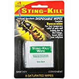Sting-Kill Disposable Wipes 8 Wipes