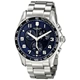 Victorinox Men's 241652 Stainless Steel Watch (Color: Blue/Stainless, Tamaño: 41MM)