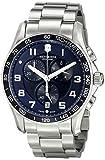Victorinox Men's 241652 Chrono Classic Analog Display Swiss Quartz Silver Watch