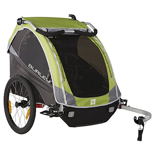 Burley Design D`Lite Child Bike Trailer, Green