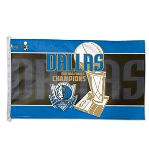 Dallas Mavericks 2011 NBA Champions Official Locker Room 3x5 Flag by WinCraft