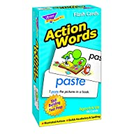 Action Words Skill Drill Flash Cards,…