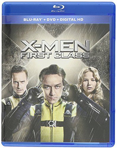 Blu-ray : X-Men First Class (With DVD, Ultraviolet Digital Copy, 2 Pack, 2 Disc, With Movie Cash)