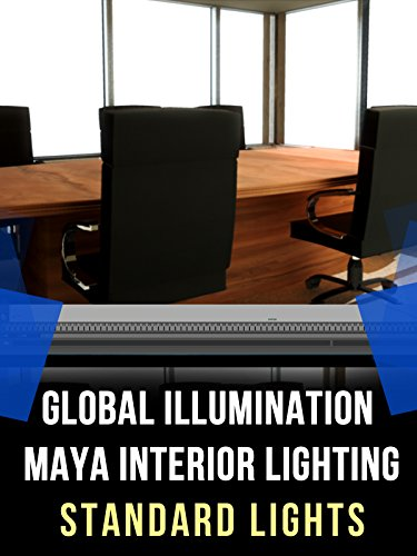 Maya Global Illumination Interior Lighting Tutorial: Standard Lights