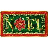 Toland Home Garden Noel Gold 20 X 38-Inch Decorative USA-Produced Anti-Fatigue Standing Desk Comfort Designer...