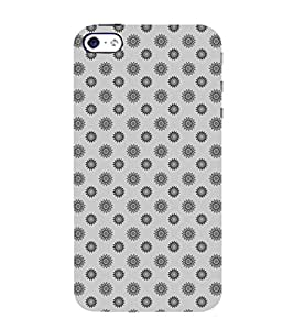 ETHNIC TRADITIONAL BLOCK PRINTING PATTERN 3D Hard Polycarbonate Designer Back Case Cover for Apple iPhone 4
