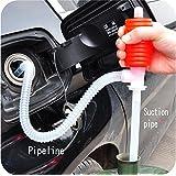 Sellify 1pcs Portable Car Siphon Hose Gas Oil Water Liquid Transfer Hand Pump Sucker Air Pump Oil Transfer Pump...