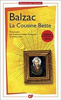 La Cousine Bette par Honor� de Balzac
