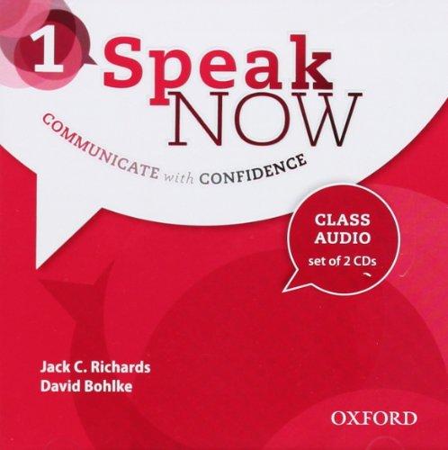 Speak Now 1: Class Audio CDs
