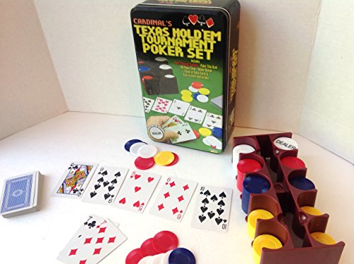 Texas Hold 'Em Set in Tin