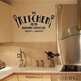 511sZVd7RwL. SL160  Kitchen Dinner Choices  Take it or Leave it 12.5x25