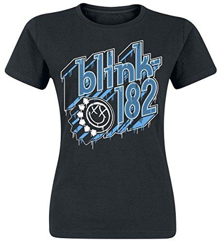 Blink 182 Drip Type Maglia donna nero XL