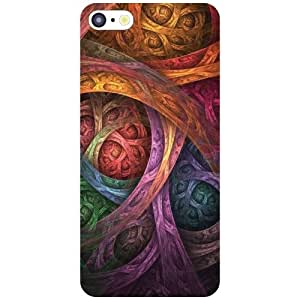 Apple iPhone 5C Back Cover - Abstract Designer Cases