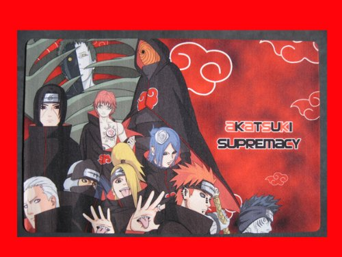 Anime Naruto Shippuden Madara Zetsu Pain Akatsuki S-rank Ninja Multi Use Play Mat
