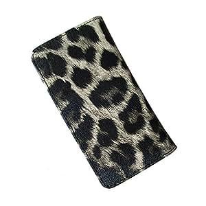 i-KitPit : PU Leather Flip Pouch Case For Karbonn A6 (BLACK & GREY SHADE)