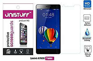 Unistuff™ Diamond Finish Screen Guard for Lenovo A7000 Turbo