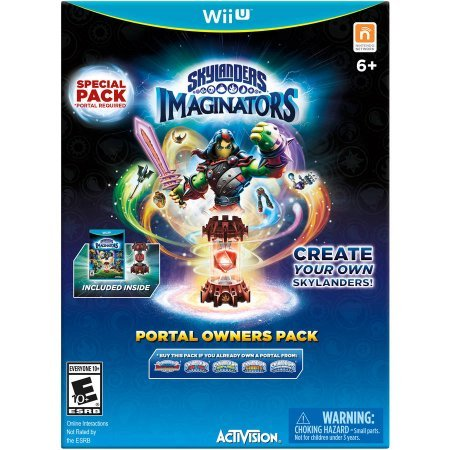 Skylanders Imaginators Portal Owners Pack - Wii U (Skylanders Giant Portal Owner Wii compare prices)