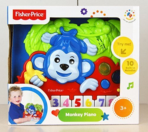 Kids Station Monkey Piano Music Set - 1