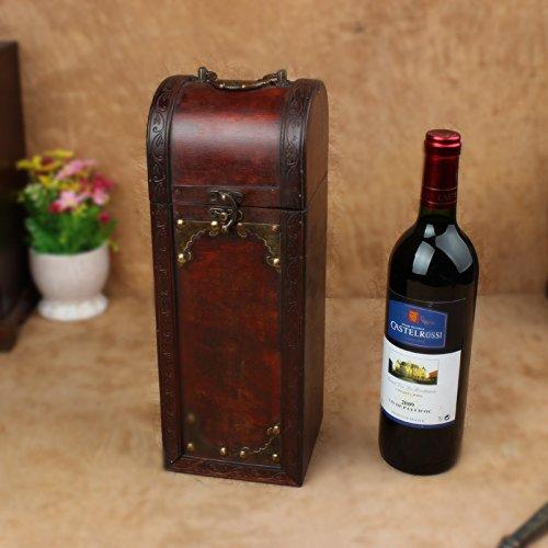 YZL/ Antique wooden wine box. box of wine. wine box
