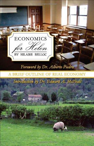 Economics for Helen by Hilaire Belloc