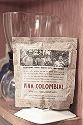 VIVA COLOMBIA! Fresh, Unroasted, Green Beans, (1 lb. Bag) by Redeeming Grounds Premium Coffee