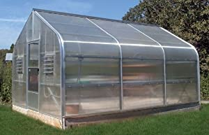 Garden Grower Hobby Greenhouse - 18' wide x 24' long x 10.5' H