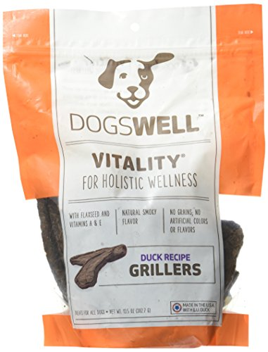 Dogswell Vitality Grillers Duck Tenders, 13.5oz. (Dogswell Duck Grillers compare prices)