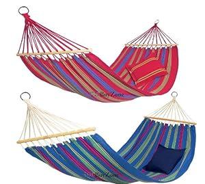 100% Cotton Durable Large Garden Outdoor Beach Camping Hammock Swing