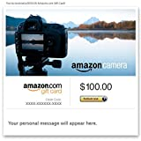Amazon Gift Card – Email – Amazon Camera thumbnail