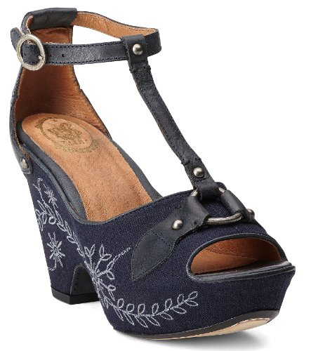 Ariat Women's Yuma Wedge Sandals Wood US Picture