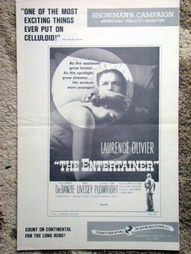 The+Entertainer+Original+1960+Vintage+Pressbook+with+Sir+Laurence+Olivier+%26+Joan+Plowright